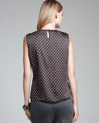 Jones New York Collection JNYWorks: A Style System by Abby Polka Dot Shell