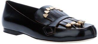 Chloé fringed loafer
