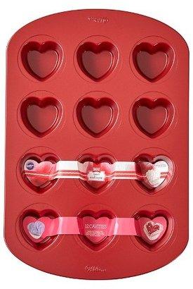 Wilton Heart Shaped Muffin Pan - 12 cavity