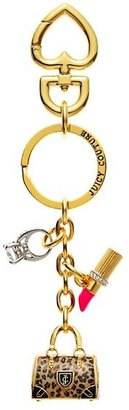 Juicy Couture Leopard Daydreamer Keyfob