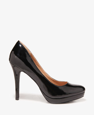 Forever 21 Pointed Patent Pumps