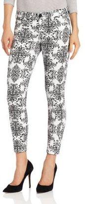 KUT from the Kloth Women's Brigitte Printed Skinny Jegging Jean