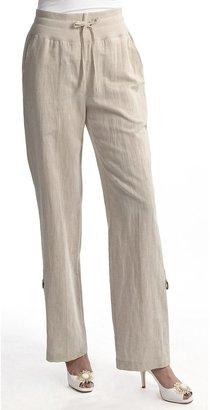 Santorini Two Star Dog Bethany Convert Pants - Linen-Cotton (For Women)