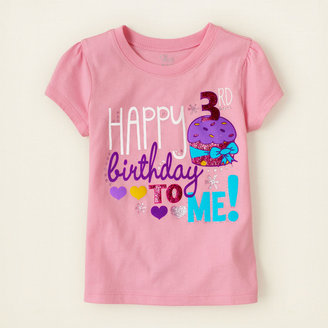 Children's Place Third birthday graphic tee