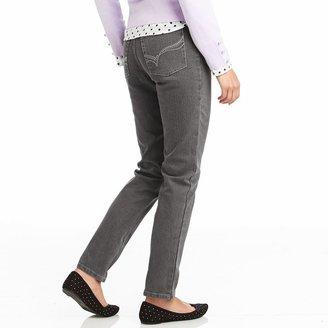 Gloria Vanderbilt amanda embellished tapered jeans - petite