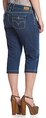 Levi's ́s Plus 542 Denim Capri Pants