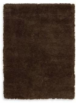 Nourison Splendor Chocolate 7-Foot 6-Inch x 9-Foot 6-Inch Room Size Rug