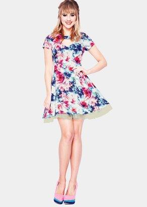Jameela Jamil Floral Printed Dress