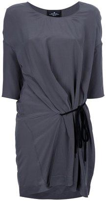 Designers Remix silk gathered dress