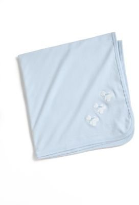 Kissy Kissy Infant's Pima Cotton Bear Blanket