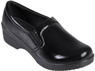 Journee Collection Womens' Faux Leather Patent Clogs