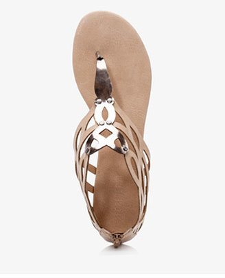 Forever 21 Cutting Edge Geo Sandals