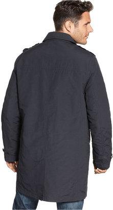 Tommy Hilfiger Coat, Performance Trench Raincoat