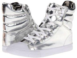 Betsey Johnson Nexuss (Silver Foil) - Footwear