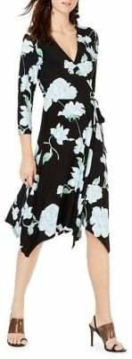 INC International Concepts Floral Wrap Dress