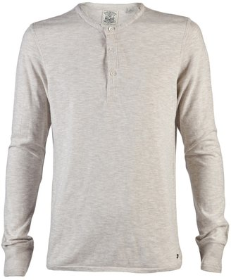 Scotch & Soda Scotch And Soda Army Style Henley