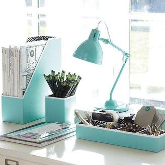 STUDY Preppy Paper Desk Accessories - Solid Pool