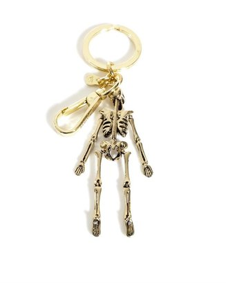 Alexander McQueen Skeleton key fob