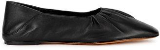 Vince Kali Black Leather Flats