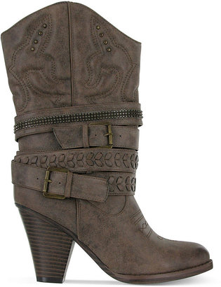 Mia London Cowboy Booties