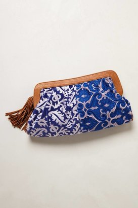 Anthropologie Duality Clutch