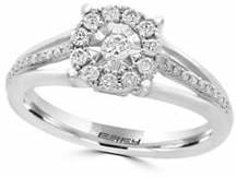 Effy 14K White Gold and 0.92 TCW Diamond Ring