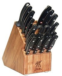 Zwilling J.A. Henckels Twin Signature 19-Piece Knife Block Set