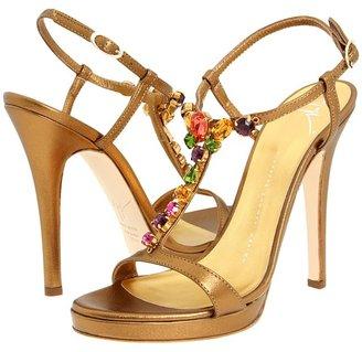 Giuseppe Zanotti E20083 (Nocciola) - Footwear