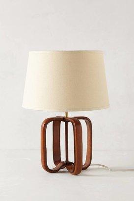 Anthropologie Saddle Strap Lamp Base