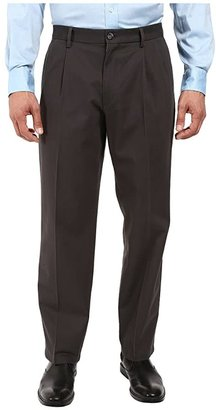 Dockers Signature Khaki D4 Relaxed Fit Pleated (Steelhead Stretch) Men's Casual Pants
