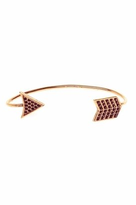 House Of Harlow Antiqued Arrow Wrap Earring in Rose Gold