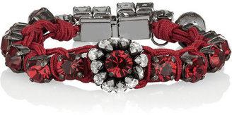 Shourouk Baraka Flower Swarovski crystal bracelet