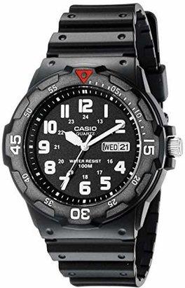 Casio Men's MRW200H-1BV Resin Dive Watch