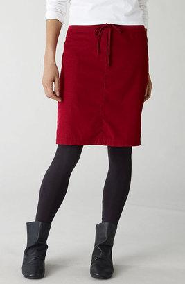 J. Jill Pure Jill pincord drawstring skirt