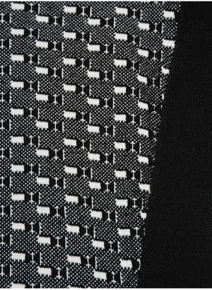 Rag and Bone Rag & bone Datia paneled knitted jersey dress