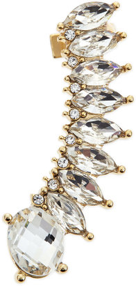 Jules Smith Designs Crystal Ear Jacket Cuff Earring, Gold