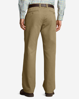 Eddie Bauer Men's Relaxed Fit Full Elastic Waist Chino Pants