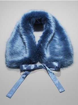 New York & Co. Faux Fur Collar