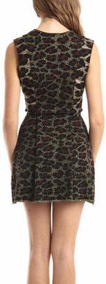 Coven Animal Print Dress