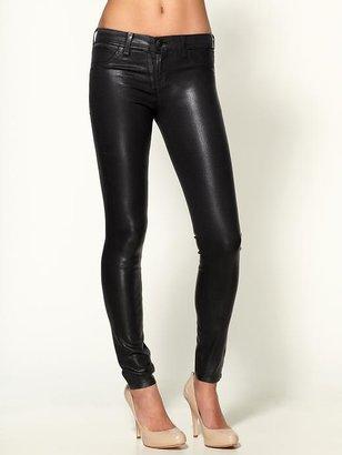 J Brand 901 Wax Coated Skinny Jeans