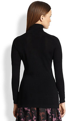 Burberry Classic Cotton Jersey Turtleneck