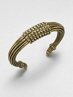 Giles & Brother Tusk-Shaped Cuff Bracelet