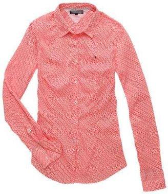 Tommy Hilfiger Gene print long sleeve shirt