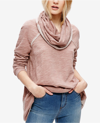 Free People Cocoon Cowl Neck Sweater $68 thestylecure.com