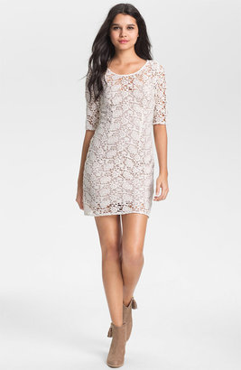 Velvet by Graham & Spencer Lily Aldridge for Crochet Lace Dress