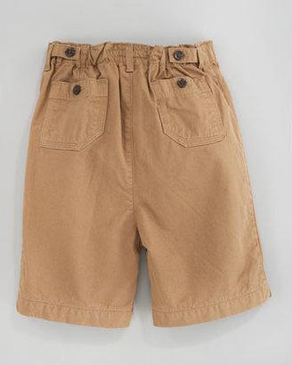 Burberry Twill Shorts