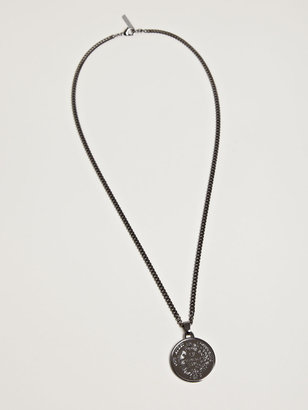 Givenchy Women's Medallion Chain Necklace