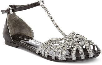 Report Felecia T Strap Flat Sandals