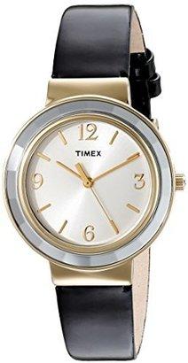 Timex Women's T2P199KW Ameritus Black Patent Leather Dress Watch $42.95 thestylecure.com