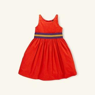 Cotton Corduroy Dress